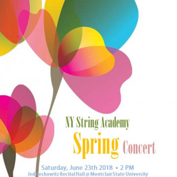 2018 NYSA spring concert