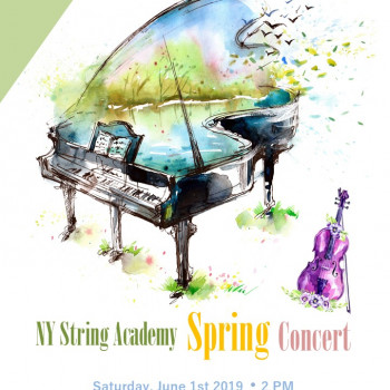 2019 NY String Academy Spring Concert