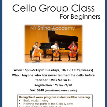 Cello Group Class For Beginners