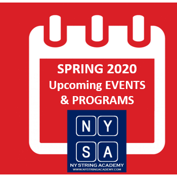 NY String Academy Upcoming EVENTS & PROG…